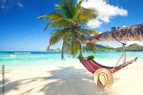 Entspannung im Urlaub Plakat