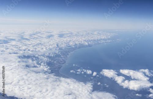 Papiers peints Arctique Coast of France close to Étaples, 2015