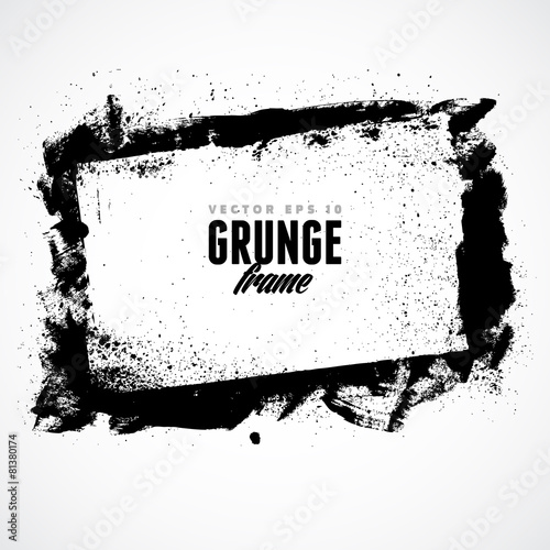 Valokuva  Grunge Frame for multiple applications