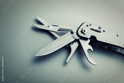 Fotografia, Obraz  Multitool knife