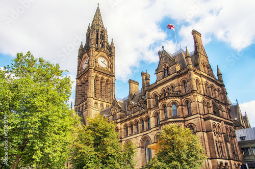 Photo  Manchester Town Hall