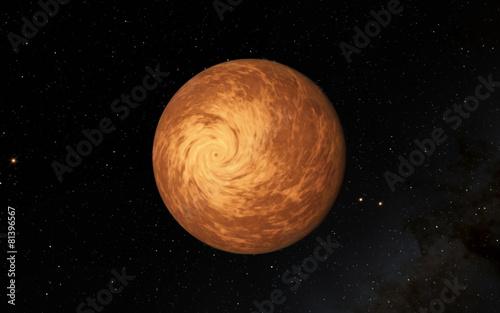 Deurstickers Nasa Alien Desert Exo Planet