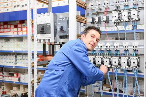 Fotografie, Obraz  Elektrik Panosu Kompanzasyon