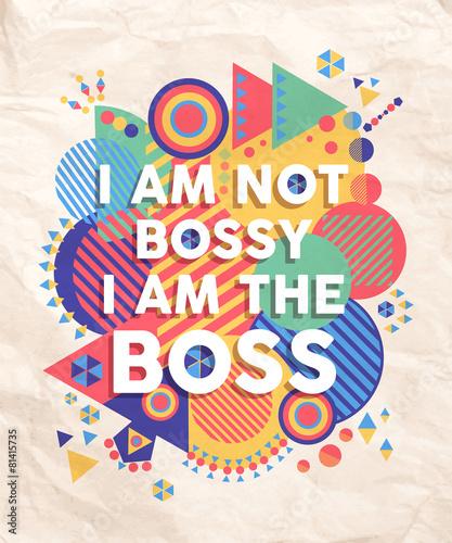 nie-bossy-ale-boss-cytat-plakatu