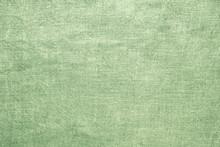 Old Linen Green Burlap Texture...
