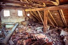 Abandoned House Attic