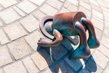 Bronzene Sprookjes-Figur Von T...