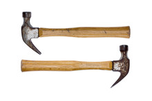 Two Rusty Claw Hammers - Equal...