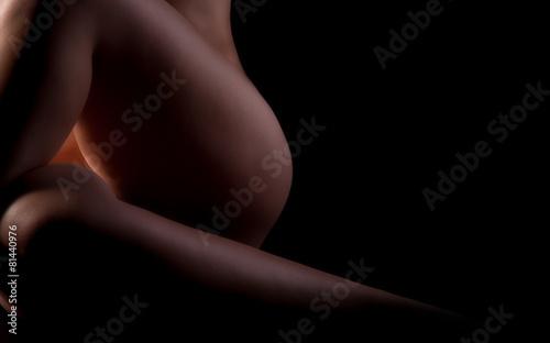 Obraz Beine einer nackten Frau - fototapety do salonu