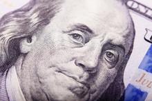 Portrait Of Benjamin Franklin ...