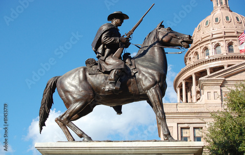 Texas Ranger Statue