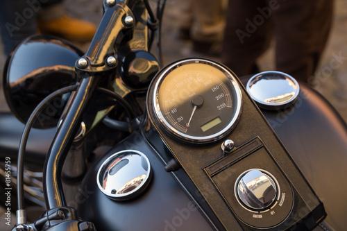 Fotografia, Obraz  Cruscotto di motocicletta