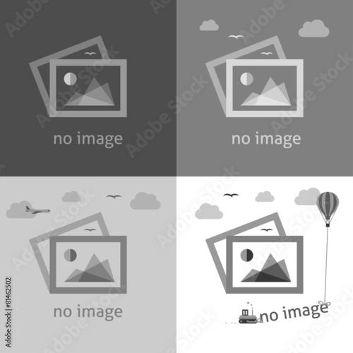 Fotografía  No image signs for web page.