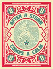 Old Retro Baseball Card.