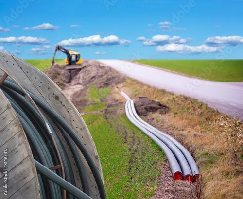 Fotografía  Digging for broadband