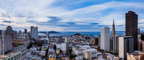 Photo sur Toile San Francisco Aerial view of San Francisco