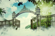 canvas print picture - heaven gate