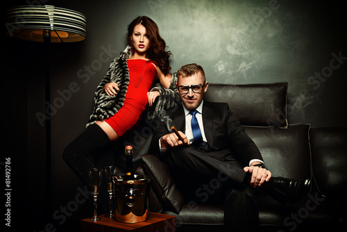 Photographie  mafia people