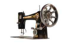 The Old Vintage Sewing Machine