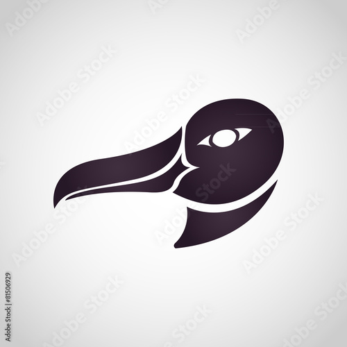 Fotografia, Obraz  Albatross logo vector