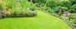 Leinwandbild Motiv Gartenanlage