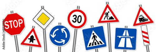 Fotografía  road signs