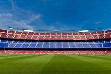 Empty Football Stadium