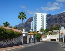Hibisco Street In Los Gigantes...