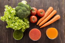 Vegetable Juices&smoothie With...