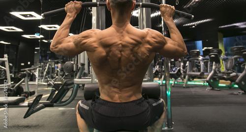 obraz dibond Bodybuilder