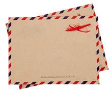 Envelope Isolated On White Bac...