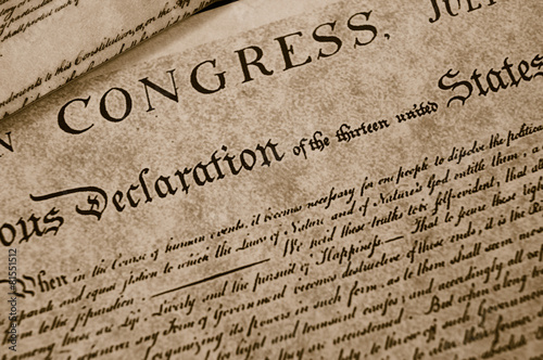 Photo The Declaration of Independence