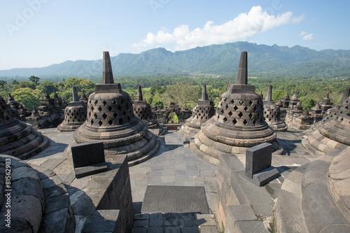 Foto op Plexiglas Indonesië Borobudur Temple, Yogyakarta, Indonesia.