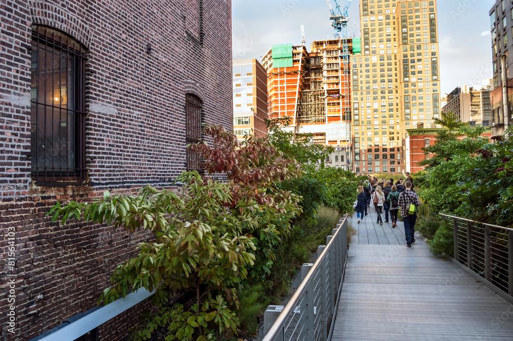 Fototapety, obrazy: High Line Walkway