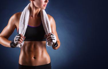 Fototapeta samoprzylepna Fitness woman