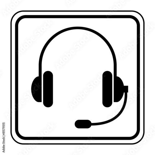 Logo Casque Audio Et Micro Buy This Stock Vector And Explore
