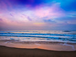 Peaceful ocean sunrise