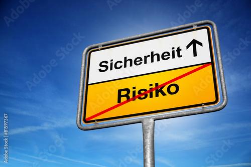 Fotografía  Sicherheit / Risiko