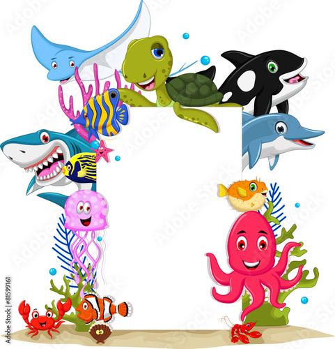 zwierzeta-morskie-kreskowki-z-pustym-znakiem-do-projektowania