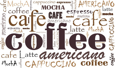 Fototapeta Kawa Coffee background