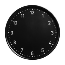 Clock Face With No Hands