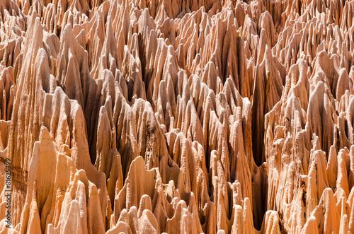 Staande foto Afrika Red Tsingy in Ankarana Madagascar
