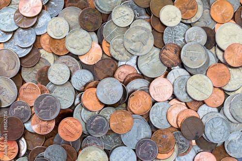 Fotografía  Coins background
