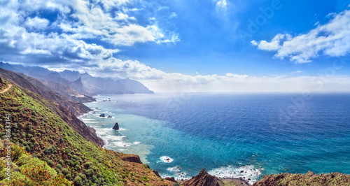 Canarian landscape. Panorama