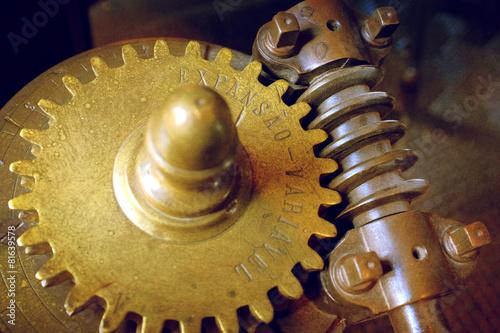 Fotografie, Obraz  Industrial Gear