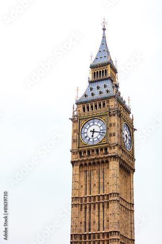 Fotografía  Big Ben in Westminster, London England UK