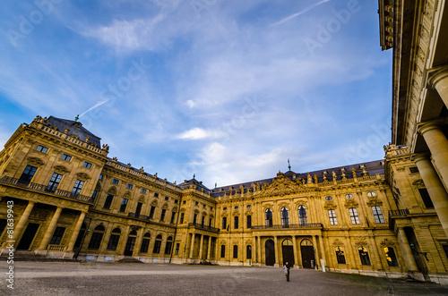 Spoed Foto op Canvas Artistiek mon. Würzburg 5