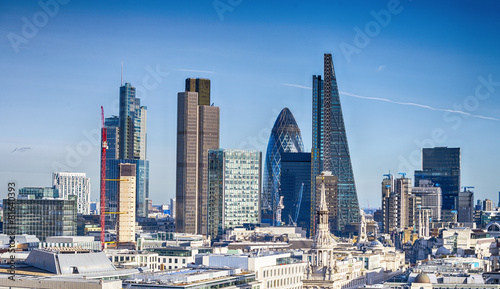 Beautiful London skyline #81640393