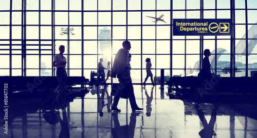 Fotografie, Obraz  International Terminal Business Travel Transportation Concept