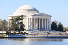 Dawn At The Jefferson Memorial...